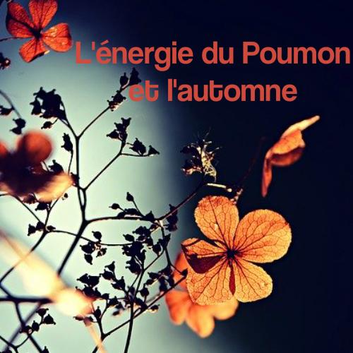 L'énergie du Poumon et l'automne